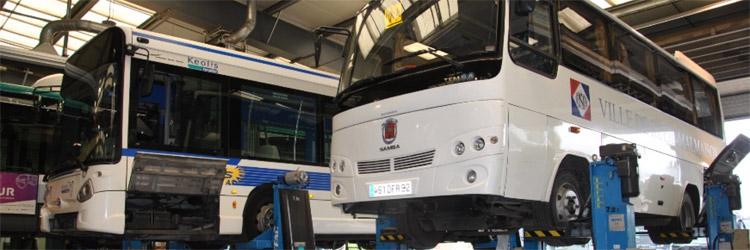 GLOBAL BUS est un garage spécifiquement dédié à l'après-vente des autocars et des autobus