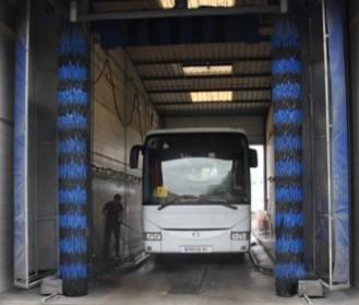 Lavage autocars Global Bus après réparation