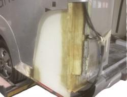 Fabrication de moules polyester au modèle pour réalisation de pièces série